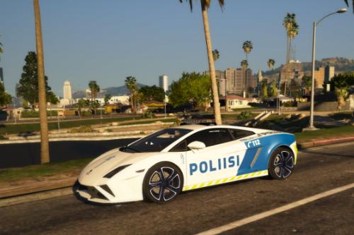 [ELS] [ADD-ON] Finnish Police (Poliisi) Lamborghini