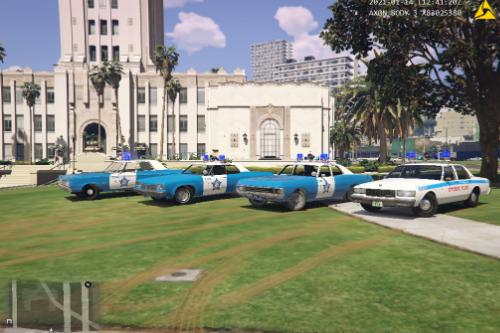 (ELS) Chicago Police Classic/ Retro Pack (DLC Addon)