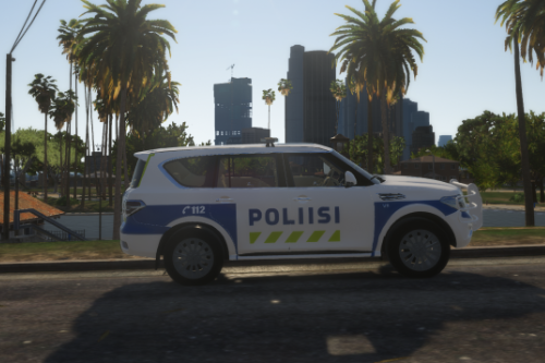 [ELS] Finnish Police (Poliisi) SUV 2020 Coloring