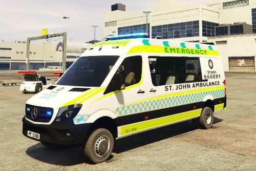 [ELS]香港聖約翰救護車Hong Kong St. John AMBULANCE Benz Sprinter