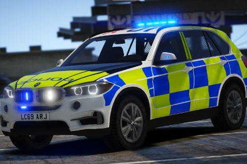 Marked and Unmarked BMW X5 F15 [Replace | ELS]