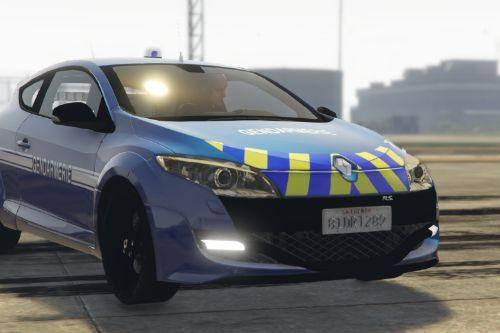 megane RS gendarmerie [Add-on | ELS]