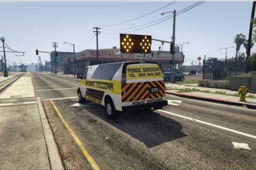 [ELS] Polish Roadside assistance | Polska Pomoc Drogowa 2016 Chevy Express Van 3500