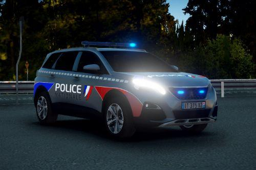 [ELS | Reflective] Peugeot 5008 - Police Nationale