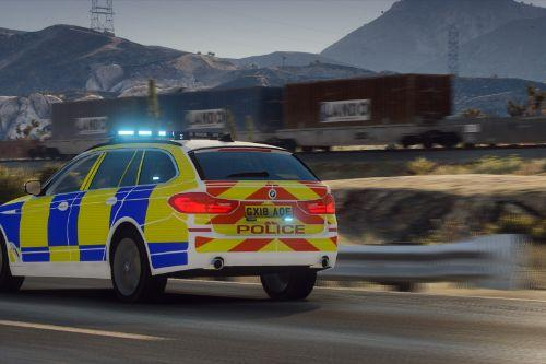 Traffic BMW G31 [Add-On | Extras | ELS]