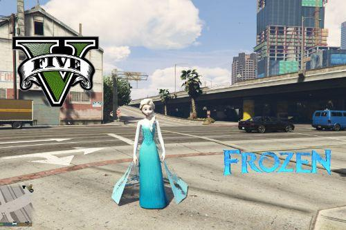 Elsa from Frozen [Add-On Ped]