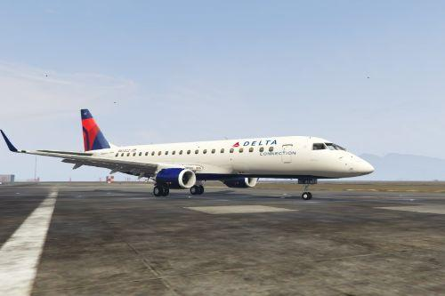 Embraer 175 Livery Delta and NWA