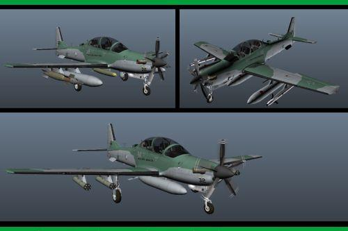 Embraer: A-29B Super Tucano (FAB) [Add-on]