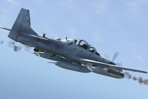 Embraer A-29B Super Tucano Afghanistan [Add-on]