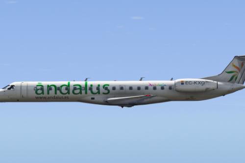 Embraer ERJ-145 LR ( Enterable Interior ) [Add-on]