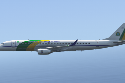 Embraer Lineage 1000E ( Enterable Interior ) [Add-On Template]