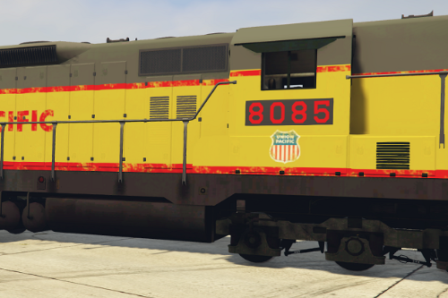 EMD SD9 with liveries