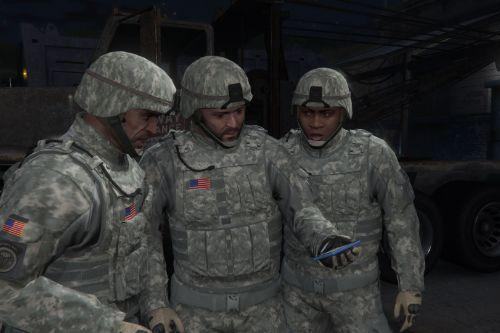 Emergency Outfits For Franklin, Micheal & Trevor