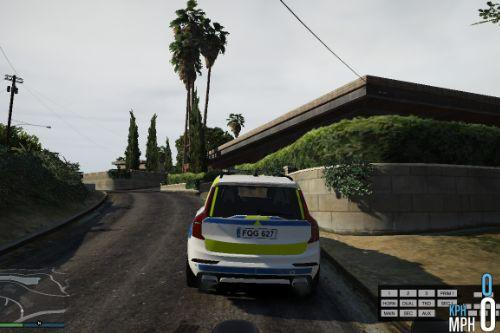 [Emil Modding] Swedish XC90 Police