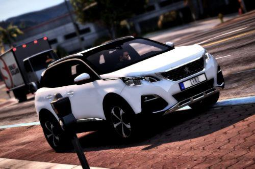 Peugeot 3008 - 2018 [Add-On - Replace]