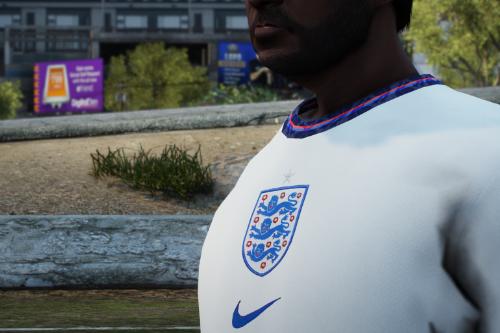 England Football Club Jersey 2021 [EUP/FIVEM READY]