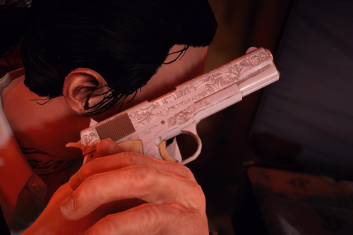 Engraved M1911 [Animated]