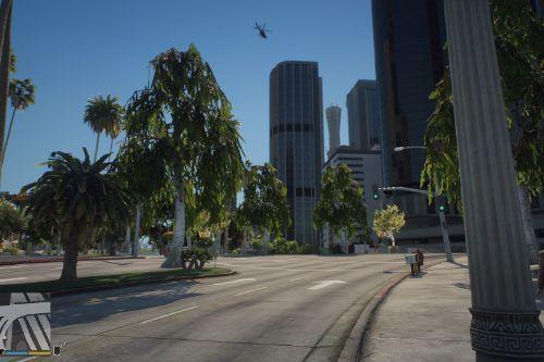 Enhanced City Trees & Scenery [Menyoo]