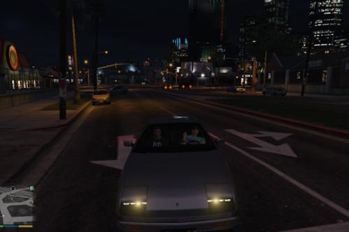 Enter Vehicle as Passenger