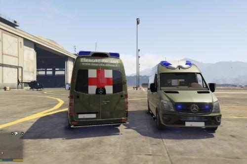 Esercito Italiano Mercedes Sprinter Ambulanza