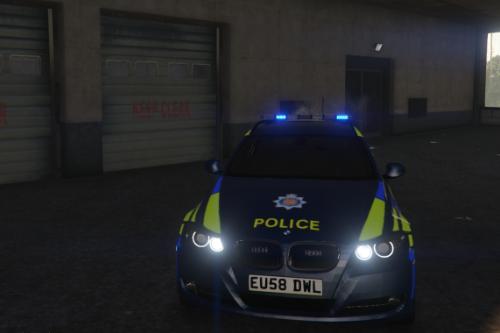 Essex Police 2008 BMW 330D Touring RPU