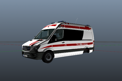 Estonian Ambulance (Tallinna Kiirabi )  Mercedes Sprinter 2017