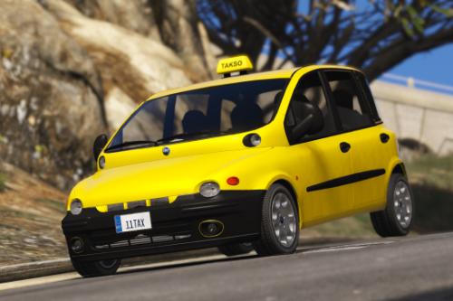 Estonian Fiat Multipla Taxi [Takso]