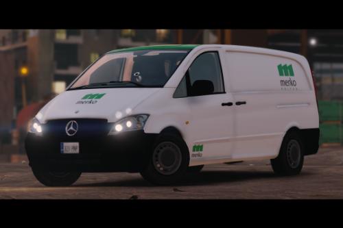 Estonian Mercedes Benz Vito Construction Van