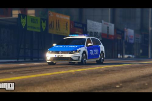 Estonian Police 2017 Volkswagen Passat GTE