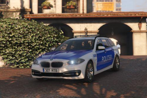 Estonian Police (Politsei) BMW 5-series