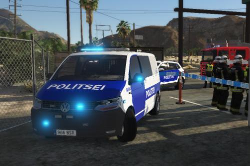Estonian Police T6 Transporter [ELS]
