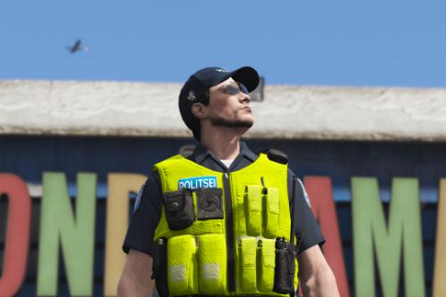 Estonian Police Uniform