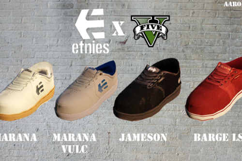 Etnies Shoes - 4 Pack