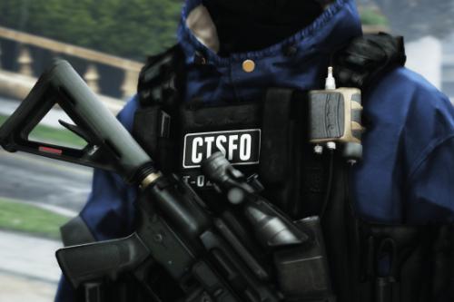 (EUP) Black CTSFO Vest