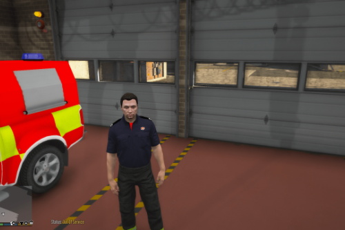EUP British Fire Uniform (Re-Texture) (EUP 8.2)