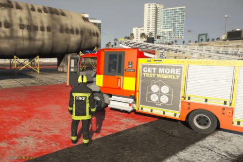 EUP  British Fire Uniform (Re-Texture) (EUP 8.1 Only)