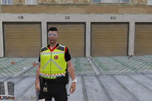 [EUP] Gendarmerie Traffic Vest