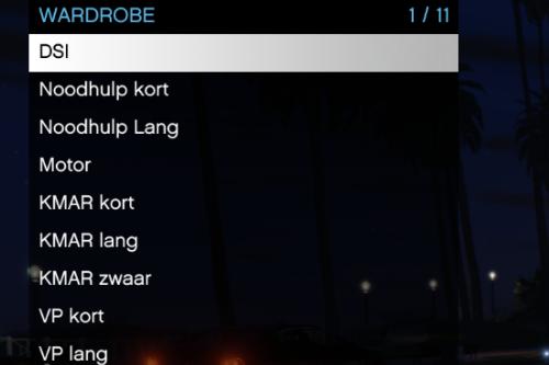 EUP menu Dutch reskin