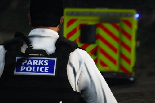 (EUP) Metropolitan Parks Police Vest