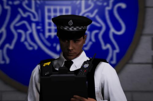 (EUP) Metropolitan Police Peaked Cap