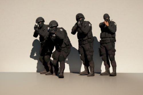 EUP N.O.O.S.E TRU (Tactical Response Unit) Outfits for MP Male (MENYOO)