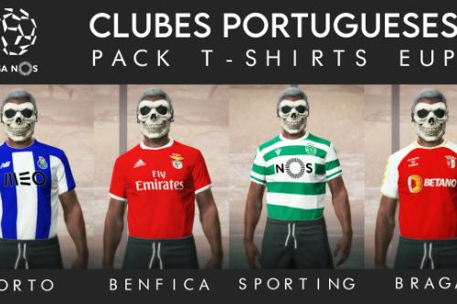 [EUP] Football Jerseys - Portugal (Sporting, Benfica, Porto & Braga) [FiveM]