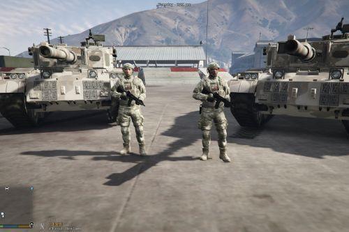 [EUP] Turkish Army Uniform Pack