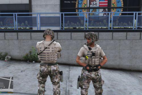 [EUP] Turkish Police Special Operations Uniform Pack