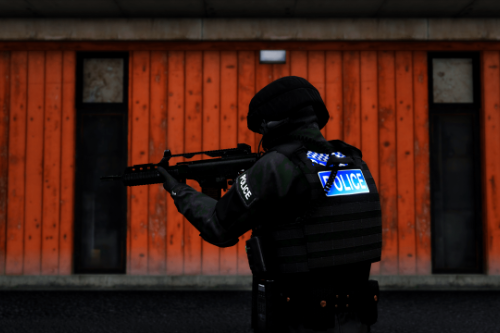 (EUP) UK Armed Police Vest Texture