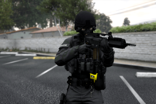 (EUP) UK Armed Police Vest Texture