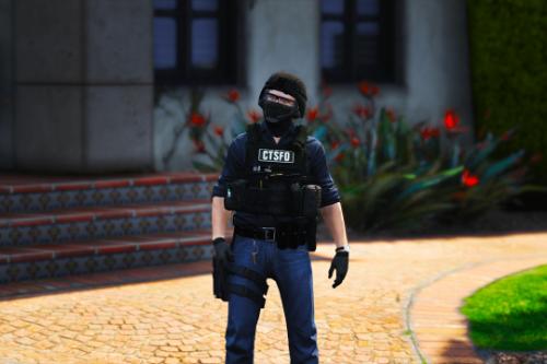 (EUP) UK Black CTSFO Vest Texture