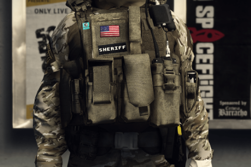 EUP Vest, Belt & Helmet Pack