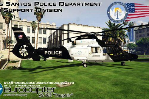 Eurocopter AS365 LSPD Police Helicopter