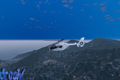 Eurocopter EC-135 - Polizia Municipale Roma [Skin]